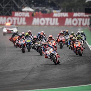 El MotoGP de Argentina en acción