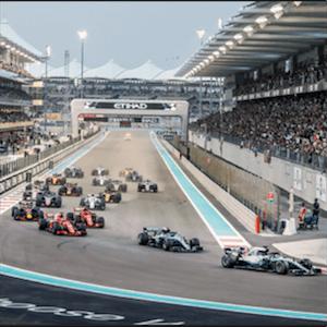 Gran Premio de Abu Dhabi en acción