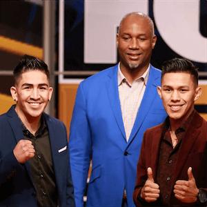 Leo Santa Cruz y Miguel Flores