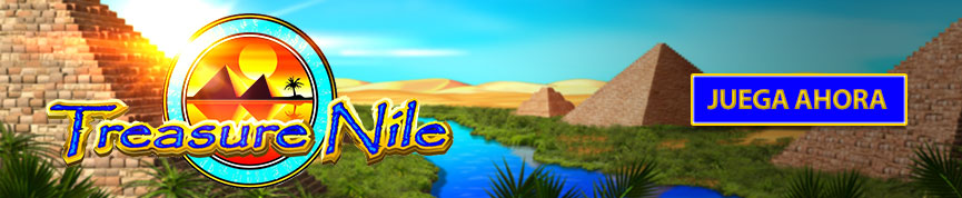 Treasure Nile Header Banner