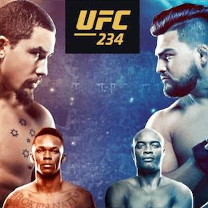 Noche de la pelea UFC 234