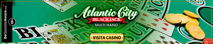 Atlantic City Multihand Blackjack Gold
