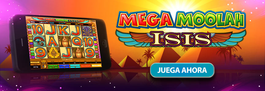 Mega Moolah Isis Banner