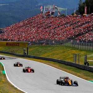 Gran Premio de Austria en acción