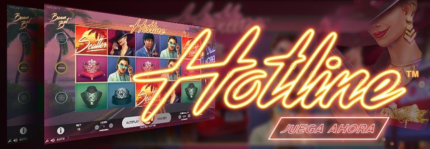 Hotline Slot Banner