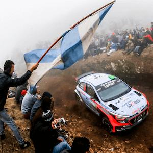 Rally argentino en marcha