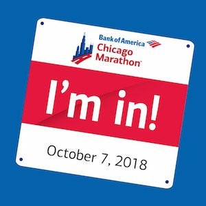 Estandarte del Maratón de Chicago