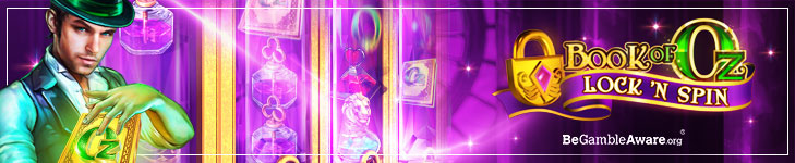 Book of Oz Lock n Spin Banner