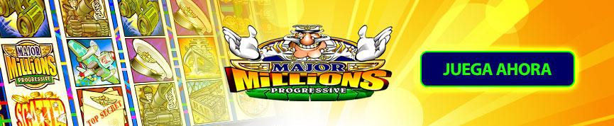 Juega y Gana en Major Millions Jackpot