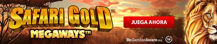 Safari Gold Megaways Banner