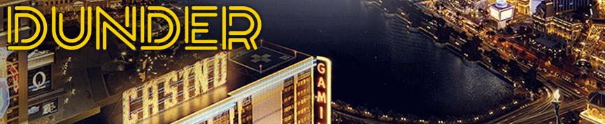 Dunder Casino Banner