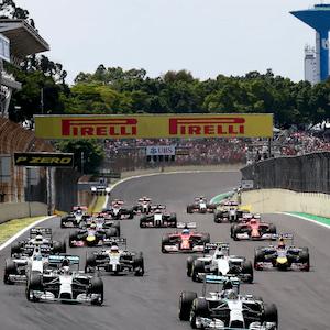 Carrera de F1 en Brasil