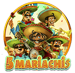 5 Mariachis Logo